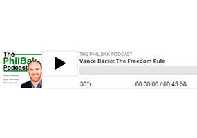 """Phil Bak Podcast Exclusive: """"The Freedom Ride"""""""